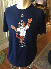Majestic Detroit Tigers Paws Mascot t-shirt Size Youth XL (18) Licensed MLB
