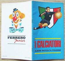 ALBUM I CALCIATORI - Ed. Ferrero Junior, 1966/67* - VUOTO - DA EDICOLA - RARO!!