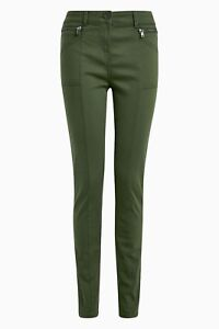 Next Zip Detail Skinny Trousers Eight different Colours all sizes
