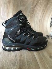 New SALOMON COSMIC 4D GTX W UK6 Hiking Walking Snow BOOTS Denim Blue/Grey