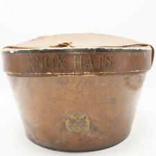 Vintage Knox New York Cardboard Hat Box