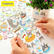 Kawaii My Neighbor Totoro Cartoon 3D Stickers Diary Sticker Scrapbook Decoration