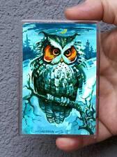 Vogel, Eule /Kühlschrank oder Office Magnet/Kunstdrucke Maße:95x65mm S.Hahonin