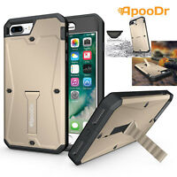 ApooDr Shockproof Heavy DutyTough Cover TANK Kickstand Case For iPhone 7 7 Plus
