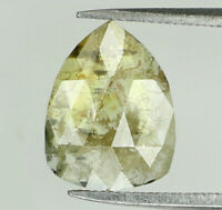 Natural Loose Diamond Pear I3 Clarity Yellow Color 7.60 MM 0.66 Ct N8459