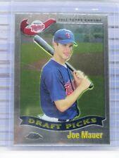 2002 Topps Chrome Joe Mauer Rookie Card RC #622 Twins (A) C99