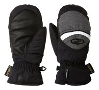 Ziener Kinder Ski Handschuh Fäustling LISBO GTX® JUNIOR schwarz grau