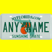 License plate, golf cart, mobility scooter - Florida design, custom, any name