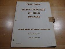 massey ferguson mf 20 side delivery rake parts manual 650988m96 pdf