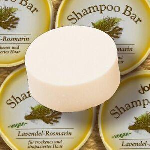 Jolu Shampoo Bar LAVENDEL ROSMARIN trockenes Haar 50g plastikfrei vegan zerowast