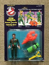 The Real Ghostbusters: Peter Venkman with Bouncin' Bazooka vintage toy Figure