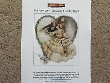 60%Off Golden Kite counted x-stitch chart-#755 Amy, Why Turn Away From My Sight
