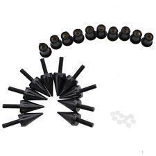 5mm Windscreen Screws Windshield M5 Bolts Wellnut Fastener Kits Black 10 Pieces