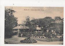 Rosherville Kirkee Boat Club Poona India Vintage Postcard 340b