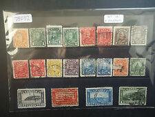Canada 1930-31 George V (16v Set + Variations) (SG 288-303) Used