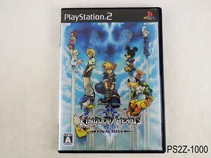 Kingdom Hearts II Final Mix 2+ Plus Japanese Import PS2 JP REGION LOCK US Seller