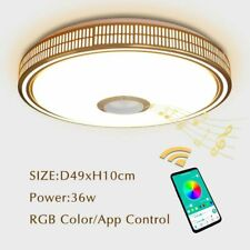 Led Light Chandeliers Shadeless Bluetooth Control Lamp Modern Style Home Display