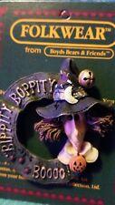 """FOLKWEAR from Boyds Bears & Friends Sabrina """"BIPPITTY BOPPITY BOO"""" pin #26315"""