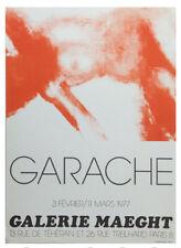 Claude Garache, Galerie Maeght II, Affiche Lithography 1977