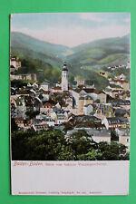 AK Baden Baden 1900 Ortsansicht von Schloss Venningen Solms Häuser Straßen   W8