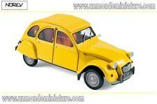 Citroën 2 CV 6 Club de 1979 Mimosa Yellow NOREV - NO 181496 - Echelle 1/18