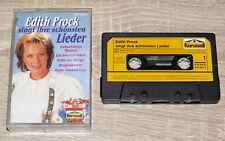 Edith Prock singt ihre schönsten Lieder (Musikkassette) Volksmusik, gebraucht