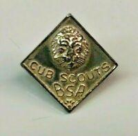 Boy Scouts BSA Cub Scout pin Vintage Pin LION HEAD Pre WW2
