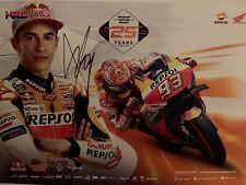 Poster Marc Marquez Firmado En Aragon
