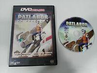 PATLABOR DVD + EXTRAS MANGA SELECTA VISION CASTELLANO JAPONES ENGLISH