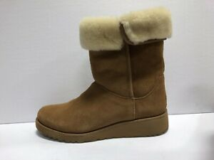 UGG Womens Amie Chestnut Winter Boot Size 11 M