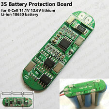 3S 3A Protection PCB Board for 11.1V 18650 Li-ion Lithium BMS Battery Packs Cell