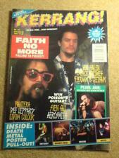 KERRANG! - FAITH NO MORE - 20 Feb 1993 # 431