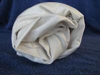 King Flat Sheet Ivory Wrinkle Free 450TC Sateen Supima Company Store 179