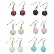 Earrings Mix Glitter Drop Colors Jewelry 6 Pair