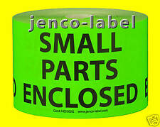 HE3505G, 500 3x5 Small Parts Enclosed Label/Sticker