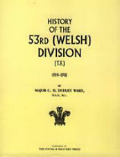 History of the 53rd (Welsh) Division: 2004 by C.H Dudley Ward (Paperback, 2004)