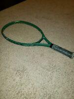 WEED Vintage Oversize Tennis Racquet STRUNG   4 5/8 Grip - Green