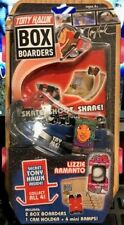 Tony Hawk Box Boarders Lizzie Armanto Plus 1 Secret Tony Hawk & 4 Trick Ramps