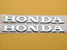 16cm Silver Gas Tank Badge Fairing Decal 3D for Honda CB CBR CBF RC CBX PCX CTX