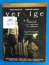 Vertige  DVD disc  & case RENTAL  (FRENCH)