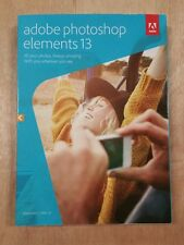 Adobe Photoshop Elements 13 FULL VERSION Windows and MAC OS Brand New