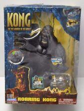 "Playmates King Kong 2005 ROARING KONG 11"" Action Figure NIP STILL WORKS!"