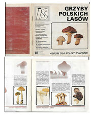 POLAND  -  Collector's album; Mushrooms of Polish forests