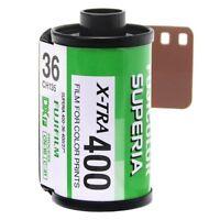 1x Roll Fujifilm Fujicolor Superia X-TRA 400 Colour Negative Film 35mm 135/36