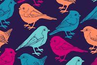 A1 | Pretty Birds Poster Art Print 60 x 90cm 180gsm Nature Garden Mum Gift #8611