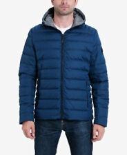 """Michael Kors Premium Down Men's Puffer Jacket Coat Pacific Blue US M 46"""" Chest"""