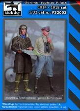 Blackdog Models 1/32 TWO GERMAN WORLD WAR I FIGHTER PILOTS 2 Figure Set