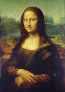 Da Vinci - Mona Lisa - Large A2 size 42x59.4cm Canvas Print Unframed