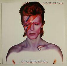 David Bowie Aladdin Sane LP vinyle bleu