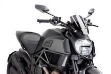 Puig Ducati Diavel 2014-2018 Dark Tint New Generation Motorcycle Fly Screen